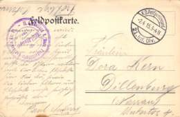 Feldpostkarte 21.Inf.Div.1915 - Dokumente