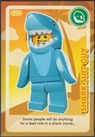 Lego Trading Card - Create The World - 076 Shark Suit Guy - Trading Cards