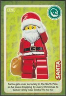 Lego Trading Card - Create The World - 078 Santa - Trading Cards