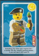 Lego Trading Card - Create The World - 080 Artist - Trading Cards