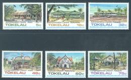 TOKELAU - MNH/** - 1985  - MONUMENTS - Yv 124-129 -  Lot 18375 - Tokelau