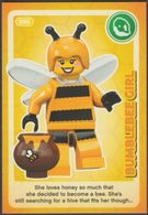 Lego Trading Card - Create The World - 086 Bumblebee Girl - Trading Cards
