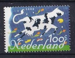 Nederland -Tien Voor Europa - Vliegende Koe Met Nederlandse Producten En Vlag, Europese Landen - MNH - NVPH 1630 - Boerderij