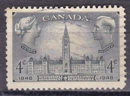 Canada, 1948 - 4c  Parliament Buildings Ottawa - Nr.277 Usato° - Usati