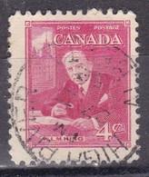 Canada, 1951 - 4 Cent William L. Mackenzie King - Nr.304 Usato° - Usati