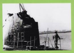 Sous- Marin S 648 JUNON, Kiosque Après Accident 1980 - Boats