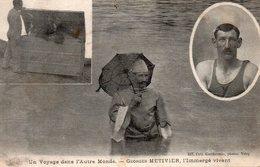 Georges METIVIER , IMMERGE VIVANT...   Carte En Achat Immédiat - Sportifs