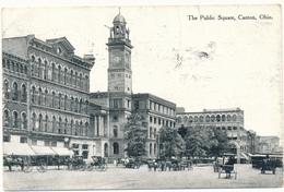 OH - CANTON - Public Square - Etats-Unis