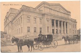 OH - COLUMBUS - Memorial Hall - Columbus