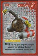 Lego Trading Card - Create The World - 087 Submarine - Trading Cards