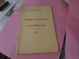 Pyrénées, Pyrénéisme Paul CARDEILHAC COMMUNICATIONS Et CONFERENCES (1ère Partie) - Midi-Pyrénées
