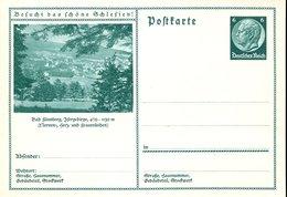 40271 Germany Reich, Stationery Card 6pf  Showing Bad Flinsberg - Ganzsachen
