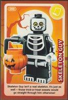 Lego Trading Card - Create The World - 088 Skeleton Guy - Trading Cards