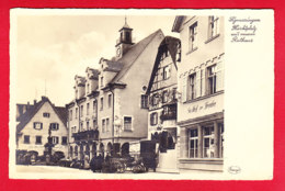 E-Allemagne-462P103  LIGMARINGEN, Marktplatz, Rathaus, Marché, Animation, Cpa BE - Sigmaringen