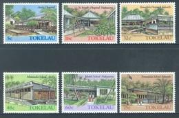 TOKELAU - MNH/** - 1986  - MONUMENTS - Yv 130-135 -  Lot 18376 - Tokelau