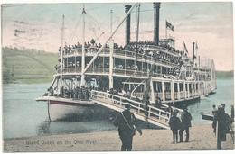 OH - ISLAND QUEEN On The OHIO River - Non Classés