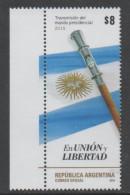ARGENTINA, 2016, MNH, CHANGE OF PRESIDENT, FLAGS, SWORDS,1v - Stamps