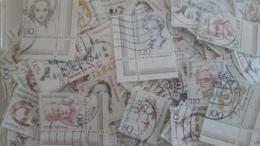 Allemagne - Femmes Célèbres - Petit Lot De 300 Timbres Oblitérés - 2 Scans - Vrac (max 999 Timbres)