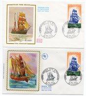 FDC France 1972 - Voilier Terre-Neuvas Cote D'Emeraude - YT 1717 - 35 Dinard  (réf 18-053) - FDC