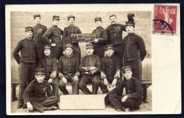 CPA-PHOTO ANCIENNE FRANCE- MILITARIA- GROUPE DE SOLDATS DE LA CLASSE 1906- GROS PLAN- ENCORE 470 J. - 2 SCANS - Sonstige