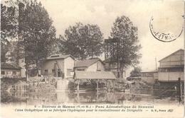 Dépt 77 - MEAUX - Parc Aérostatique De Beauval - Usine Oxhydrique Où Se Fabrique L'hydrogène (ravitaillement Dirigeable) - Meaux