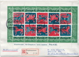 Postal History Cover: Sweden R Cover Sent From Postmuseum - Post