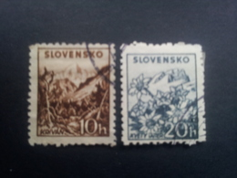 Slovakia - 1940 - Mi:SK 72-3XA, Yt:SK 40-1a O - Look Scan - Gebraucht