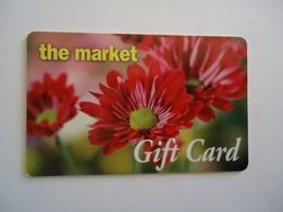 ADVERTISING  CARDS  FLOWERS THE MARKET GIFT CARD - Firemen