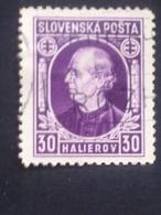 Slovakia - 1939 - Mi:SK 38XA, Sn:SK 29, Yt:SK 25 O - Look Scan - Gebraucht
