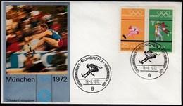 Germany Munich 1972 / Olympic Games Munich / Athletics, Basketball / FDC - Ete 1972: Munich