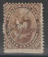 Pérou - YT 12 Oblitéré - 1866 - Pérou