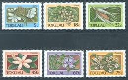 TOKELAU - MNH/** - 1987  - FLOWERS - Yv 143-148 -  Lot 18379 - Tokelau