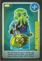 Lego Trading Card - Create The World - 089 Alien Trooper - Trading Cards
