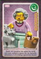 Lego Trading Card - Create The World - 090 Grandma - Trading Cards