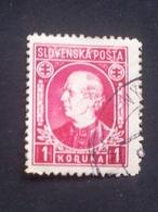Slovakia - 1939 - Mi:SK 40XA, Sn:SK 31, Yt:SK 27 O - Look Scan - Gebraucht
