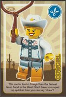 Lego Trading Card - Create The World - 093 Cowgirl - Trading Cards