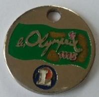 Jeton De Caddie - LECLERC - Olymprix 1995 - En Métal - - Jetons De Caddies