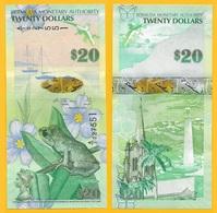 Bermuda 20 Dollars P-60b 2009 UNC - Bermude