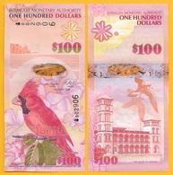 Bermuda 100 Dollars P-62 2009 UNC - Bermudes