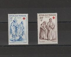 FRANCE 1957 N° 1140 à 1141** - Unused Stamps