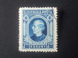 Slovakia - 1939 - Mi:SK 41XA, Sn:SK 32, Yt:SK 28 O - Look Scan - Gebraucht