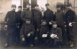 Cpa Carte Photo DREUX 28 Militaires Dy 67e Régiment D' Infanterie 29e Compagnie ( Adjudant GAUDIN ) - Personnages