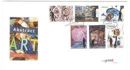 Curacao FDC E29 Zonder Adres. Abstracte Kunst, Art, Date Of Issue: 13-3-2013 - Curaçao, Nederlandse Antillen, Aruba