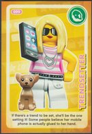 Lego Trading Card - Create The World - 099 Trendsetter - Trading Cards