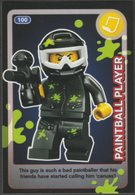 Lego Trading Card - Create The World - 100 Paintball Player - Trading Cards