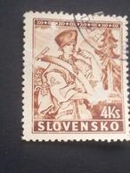 Slovakia - 1939 - Mi:SK 44, Sn:SK 41, Yt:SK 51 O - Look Scan - Gebraucht