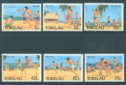 TOKELAU - MNH/** - 1987  - BEACH SPORTS - Yv 149-154 -  Lot 18380 - Tokelau