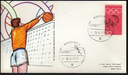 Germany Munich 1972 / Olympic Games Munich / Volleyball - Estate 1972: Monaco