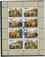 Tajikistan.2018 WWF.Cats 2002. MS Of 8v Ovpt: Panda.Michel # 784-791 KB - Tadjikistan