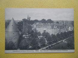 METZ. La Tour Camoufle Et Le Boulevard De L'Empereur Guillaume. - Metz